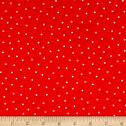 Riley Blake Glamper-licious Dots Red