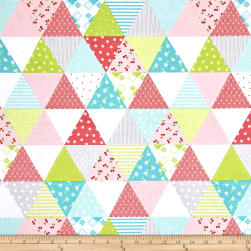 Riley Blake Glamper-licous Cheater Gray Fabric