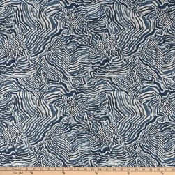 Lacefield Designs Agate Basketweave Indigo Danish Linen Fabric
