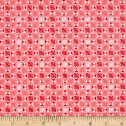 Penny Rose Linen and Lawn Geometric Pink
