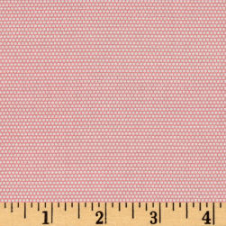 Penny Rose Linen and Lawn Dot Pink Fabric