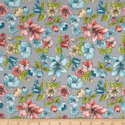 Penny Rose Linen and Lawn Main Gray