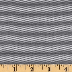 Penny Rose Linen and Lawn Dot Gray Fabric