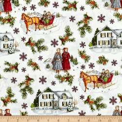 Anne of Green Gables Main Red Fabric