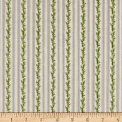 Anne of Green Gables Stripe Gray Fabric