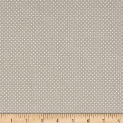 Anne of Green Gables Swiss Dot Gray Fabric