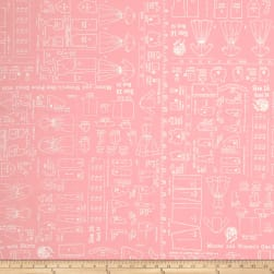 Riley Blake Backings Pattern Pink 107/108