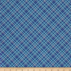Backings Plaid Blue 107/108