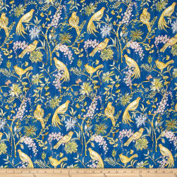 Dena Designs Marquesas Plume Navy Fabric