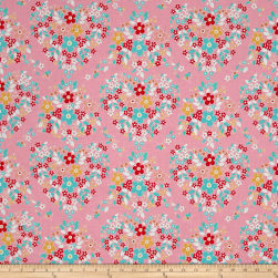 Riley Blake Forget-me-not Main Pink Fabric