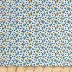 Riley Blake Forget-me-not Petals Blue Fabric
