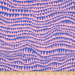 Brandon Mably Spring 2017 Sharks Teeth Pink Fabric
