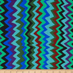Brandon Mably Spring 2017 Sound Waves Green Fabric