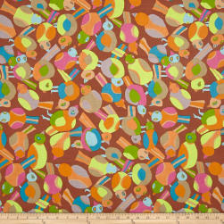 Brandon Mably Spring 2017 Round Robin Brown Fabric