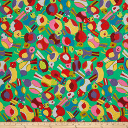 Brandon Mably Spring 2017 Round Robin Green Fabric