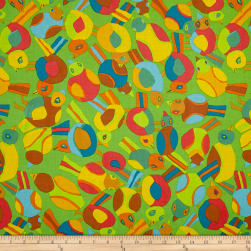 Brandon Mably Spring 2017 Round Robin Lime Fabric