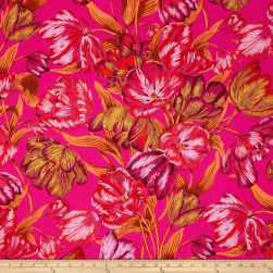 Philip Jacobs Spring 2017 Tulip Extravaganza Pink Fabric