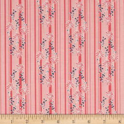 Riley Blake Daisy Days Stripe Pink Fabric