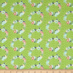 Riley Blake Daisy Days Ring-a-Rosie Green Fabric