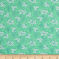 Penny Rose Dolly Flowers Green