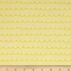 Penny Rose Dolly Curly Yellow Fabric