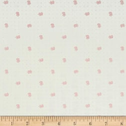 Riley Blake Bee Backgrounds Daisy Pink Fabric