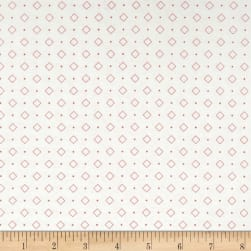 Riley Blake Bee Backgrounds Diamond Coral