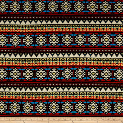 Hacci Sweater Knit Aztec Multi Fabric