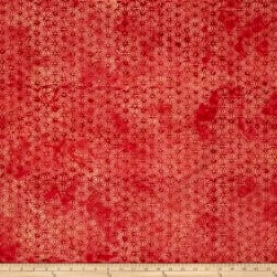 Anthology Batik Large Floral Red/Coral