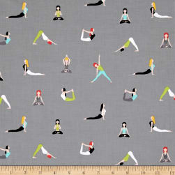 Michael Miller Namaste Good Postures Spa Fabric