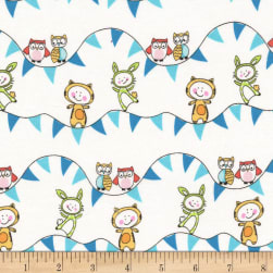 Michael Miller Let's Play Field Day Turquoise Fabric