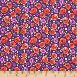 Michael Miller Peacock Pavillion Romantika Jewel Fabric