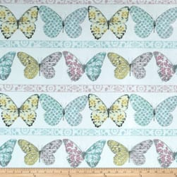 Michael Miller Minky Butterfly Row Butterfly Row Confection