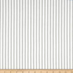 Waverly Classic Ticking Nickel Fabric