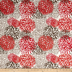Premier Prints Indoor/Outdoor Blooms Salmon Fabric