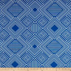 Premier Prints Indoor/Outdoor Phase Cobalt