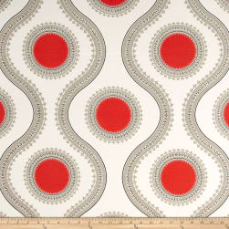 Premier Prints Indoor/Outdoor Susette Indian Coral Fabric