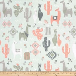 Premier Prints Llama Love Sundown Fabric
