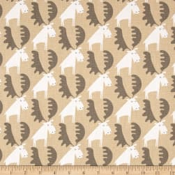 Moose Tracks Camel Fabric