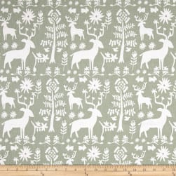 Premier Prints Promise Land Sundown Green Fabric