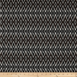 French Designer Cotton Jersey Knit Diamond Brown/Black Fabric