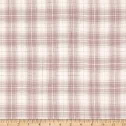 Burberry Designer 3-Ply Cotton Voile Plaid Pink/White/Mint
