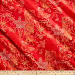 Christian Lacroix Tropical Jacquard Bright Coral