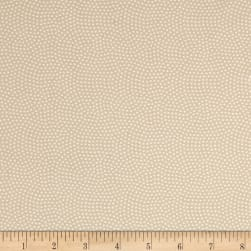 Timeless Treasures Spin Dot Beige Fabric