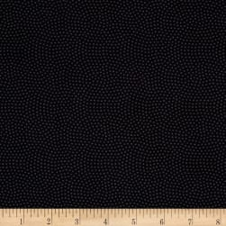 Timeless Treasures Spin Dot Charcoal Fabric