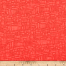 Timeless Treasures Spin Dot Coral
