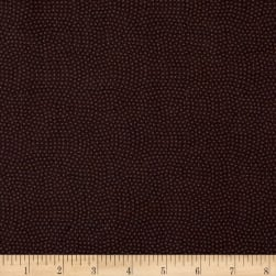 Timeless Treasures Spin Dot Espresso Fabric
