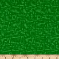 Timeless Treasures Spin Dot Grass Fabric