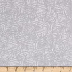 Timeless Treasures Spin Dot Grey Fabric