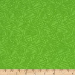 Timeless Treasures Spin Dot Lime Fabric